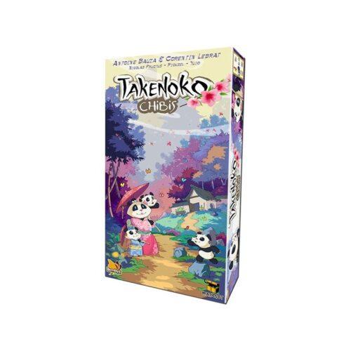 Takenko Chibis el juego de mesa editado en castellano por Asmodee. Comprar Takenoko Chibis en EGD Games.