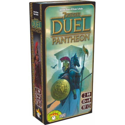 / Wonders Duel Pantheon el juego de mesa editado en castellano por Asmodee. La expansión para 7 Wonders Duel