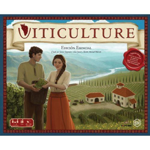 Viticulture el juego de mesa editado en castellano por Maldito Games. Comprar Viticulture en EGD Games