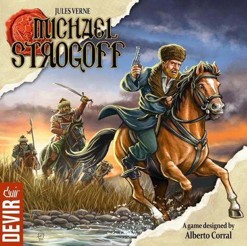 Miguel Strogoff el juego de mesa editado en castellano por Devir. Comprar Miguel Strogoff en EGD Games
