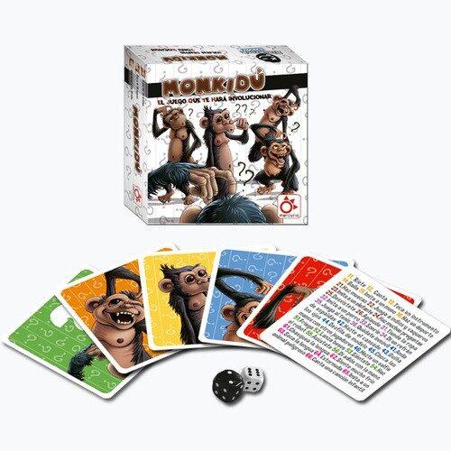 Monkidu el juego de mesa editado en castellano por Mercurio. Comprar Monkidu en EGD Games