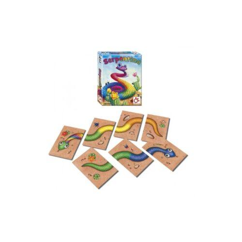 Serpentina el juego de mesa editado en castellano por Mercurio. Comprar Serpentina en EGD Games