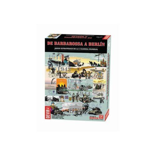 De Barbarrosa a Berlín el juego de mesa editado en castellano por Devir. Comprar De Barbarrosa a Berlín en EGD Games