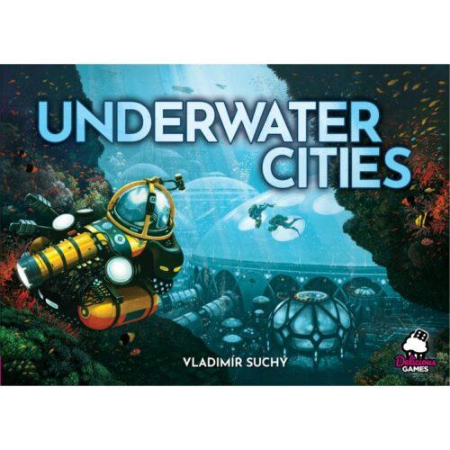 Underwater Cities el juego de mesa editado en castellano por Arrakis Games. Comprar Underwater Cities en EGD Games