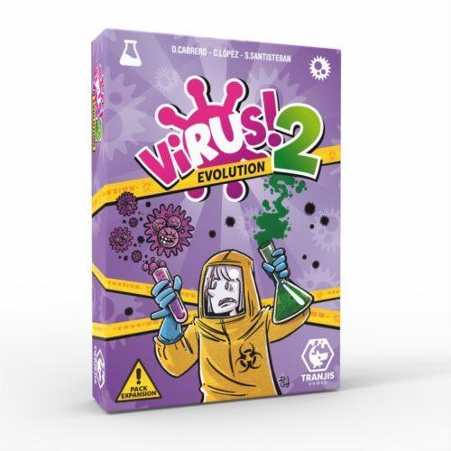 Comprar Virus 2 Evolution el juego de mesa editado en castellano por Tranjis Games. Comprar Virus 2 en EGD Games