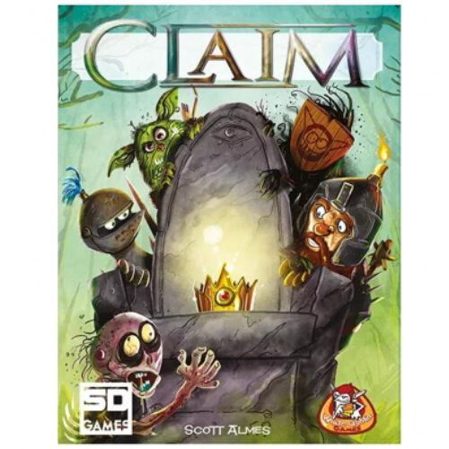Claim el juego de mesa editado en castellano por SD Games. Comprar Claim