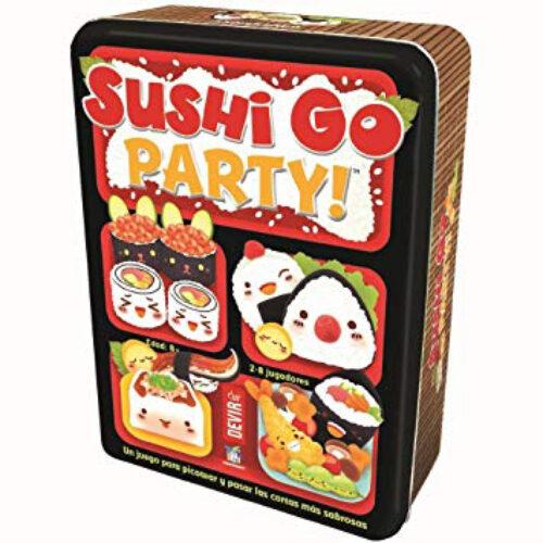 Sushi Go Party el juego de mesa editado en castellano por Devir. Comprar Sushi Go Party en EGD Games