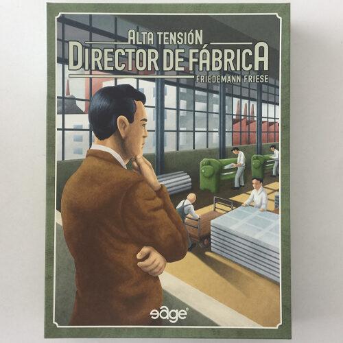 Alta Tensión Director de Fábrica el juego de mesa editado en castellano por Edge Entertainment. Comprar Alta Tensión Director de Fabrica en EGD Games.