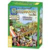 Carcasonne Mercados y Puentes el juego de mesa editado por Devir. Comprar Carcassonne Mercados y Puentes en EGD Games