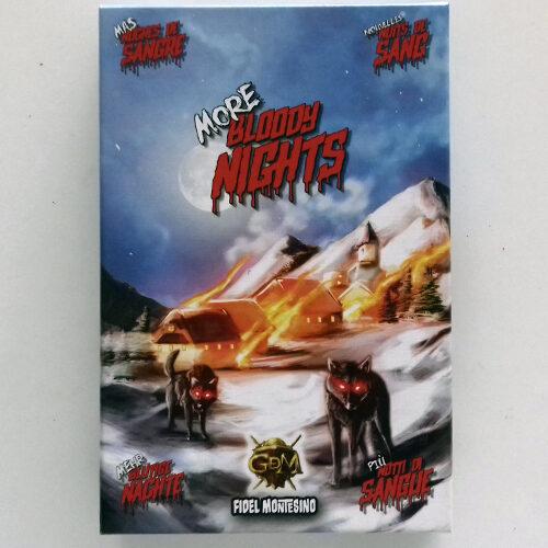 Más Noches de Sangre el juego de mesa editado en castellano por GDM Games. Comprar Más Noches de Sangre en EGD Games