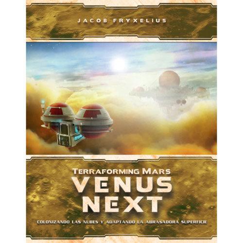 Terraforming Mars Venus Next el juego de mesa editado en castellano por Maldito Games. Comprar Terraforming Mars Venus Next en EGD Games.