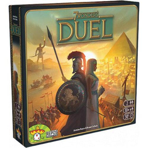 7 Wonders Duel el juego de mesa editado en castellano por Asmodee al mejor precio en EGD Games. Especialistas en juegos de tablero.