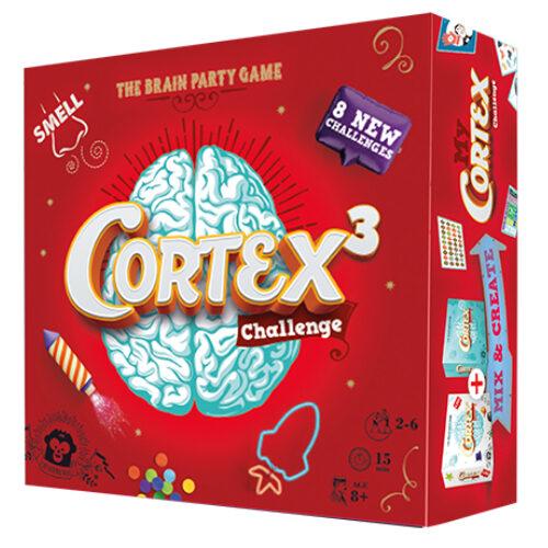 Cortex 3 Challenge el juego de mesa editado en castellano por Asmodee. Comprar Cortex 3 Challenge en EGD Games