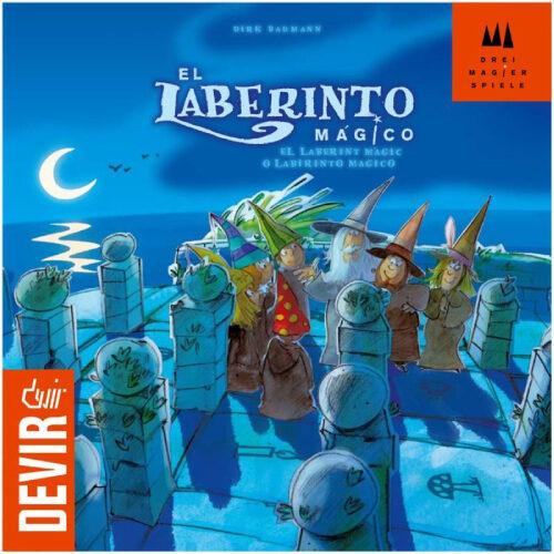 El Laberinto Mágico el juego de mesa editado en castellano por Devir. Comprar El Laberinto Mágico en EGD Games.