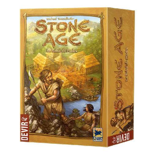 Stone Age el juego de mesa editado en castellano por Devir. Comprar Stone Age en EGD Games