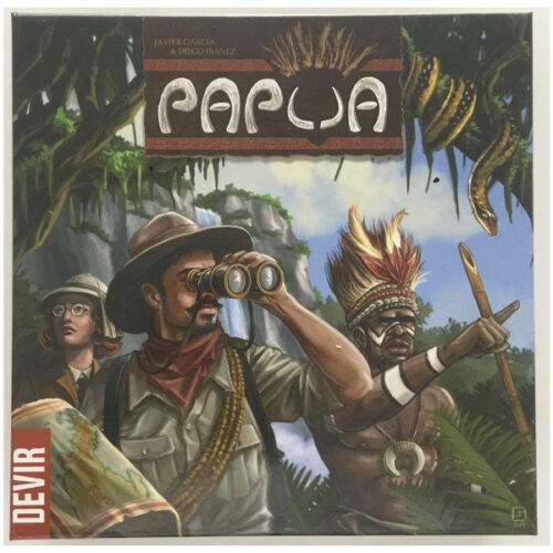 Comprar Papua el juego de mesa editado en castellano por Devir. Comprar Papua en EGD Games