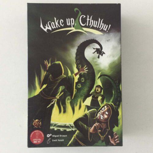 Wake Up Cthulhu el juego de mesa editado en castellano por GDM games. Comprar Wake Up Cthulhu en EGD Games