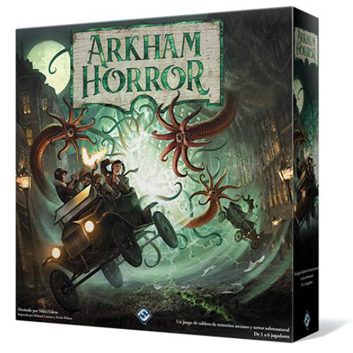 Arkham Horror 3ª Edición el juego de mesa editado en castellano por Fantasy Flight Games. Comprar Arkham Horror 3ª Edición en EGD Games