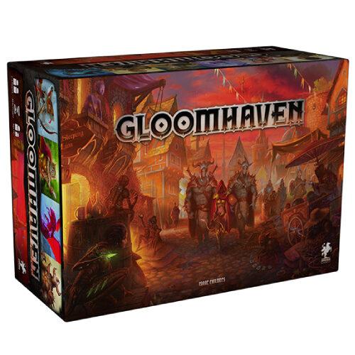 Gloomhaven el juego de mesa editado en castellano por Asmodee. Comprar Gloomhaven en EGD Games.