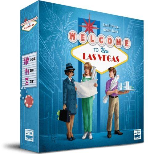 Welcome to New Las Vegas el juego de mesa editado en castellano por SD Games