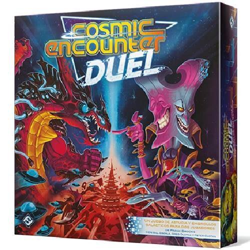 Cosmic Encounter Duel el juego de mesa editado en castellano por Fantasy Flight Games al mejor precio en EGD Games. Comprar Cosmic Encounter Duel en EGD Games