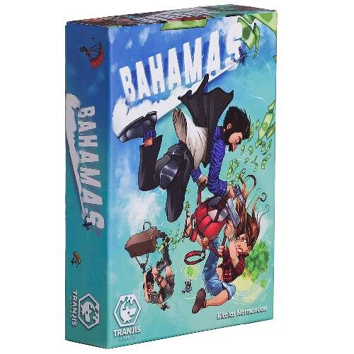 Bahamas el juego de mesa de Tranjis Games. Comprar Bahamas en EGD Games.