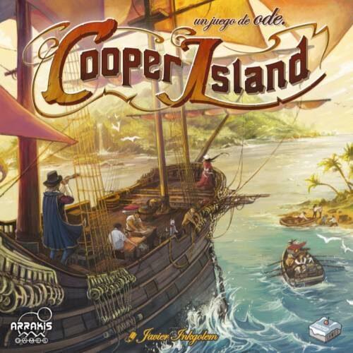 Cooper Island el juego de mesa editado en castellano por Arrakis Games