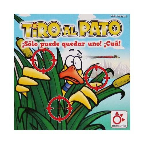 Tiro al Pato el juego de mesa editado en castellano por Mercurio. Comprar Tiro al Pato en EGD Games.