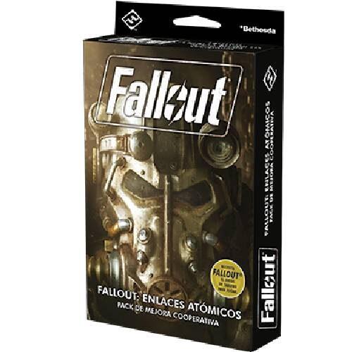 Fallout Enlaces Atómicos el juego de mesa editado en castellano por Fantasy Flight Games. Comprar Fallout Enlaces Atómicos en EGD Games