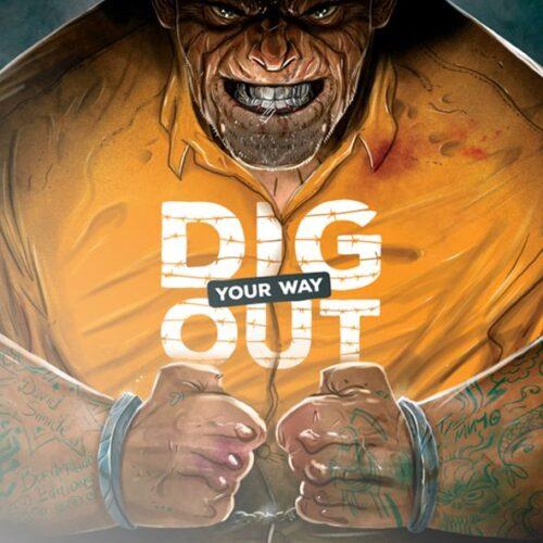 Dig Your Way Out el juego de mesa editado por Gen X Games