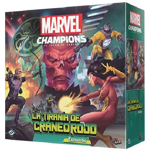 Marvel Champions lA Tiranía de Craneo Rojo el juego de mesa editado por Fantasy Flight Games. Comprar La Tiranía de Craneo Rojo en EGD Games
