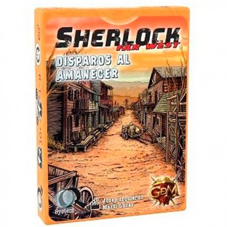 Comprar Sherlock Far west Disparos Al AmanecerComprar Sherlock Far west Disparos Al Amanecer