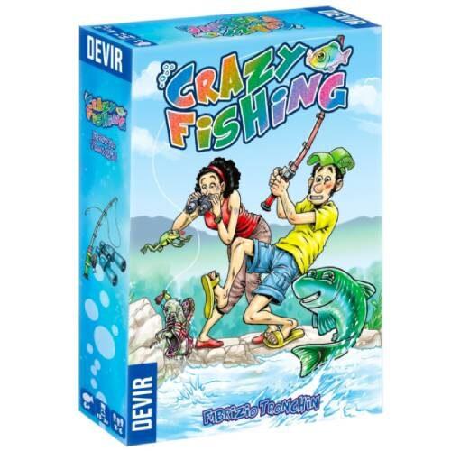 Comprar Crazy Fishing juego familiar divertido de Devir