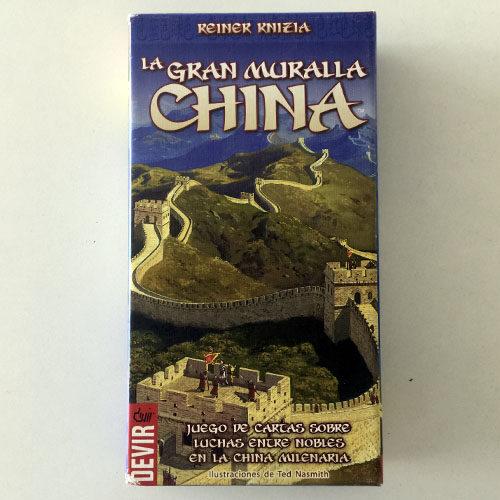 La Gran Muralla China el juego de mesa editado en castellano por Devir. Comprar La Gran Muralla China en EGD Games
