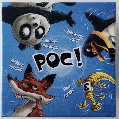 Poc el juego de mesa editado en castellano por Tranjis Games. Comprar Poc en EGD Games