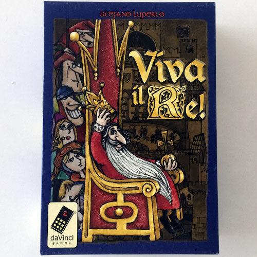Viva el Rey el juego de mesa editado por Da Vinci Games. Comprar Viva el Rey en EGD Games