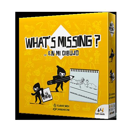 What's Missing el juego de mesa divertido de la editorial Asmodee. Comprar Wht´s Missing en EGD Games