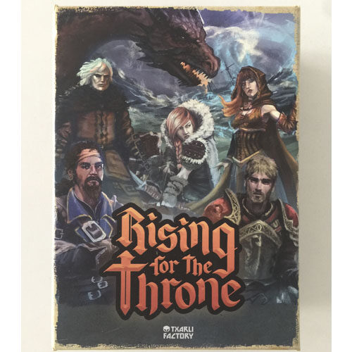 Rising for the Throne el juego de mesa editado en castellano por Txarlie Factory. Comprar Rising for the Throne en EGD Games