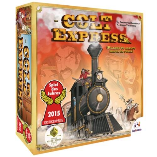 Colt Express el juego de mesa editado en castellano por Asmodee. Comprar Colt Express en EGD Games