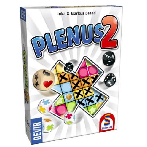 Comprar Plenus 2 el juego de mesa editado en castellano por Devir