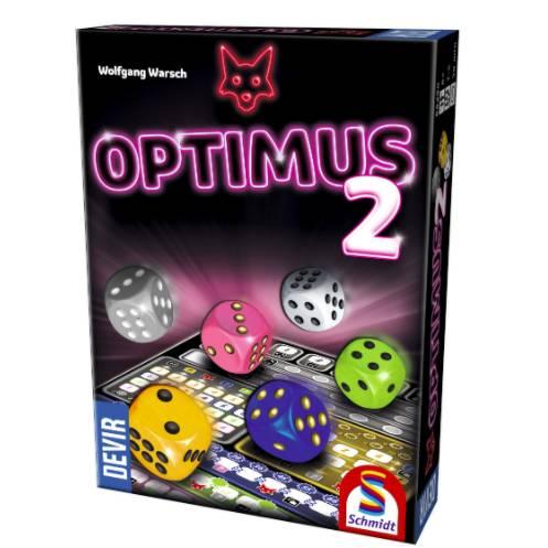 Optimus 2 el juego de mesa editado en castellano por Devir. Comprar Optimus 2 en EGD Games