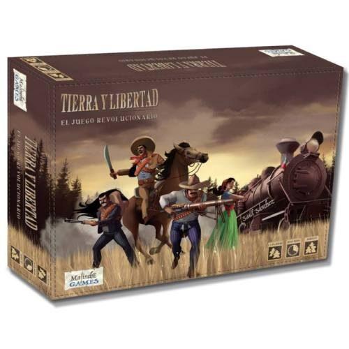 Tierra y Libertad + Mini Expansión Misiones Edición Kickstarter barato