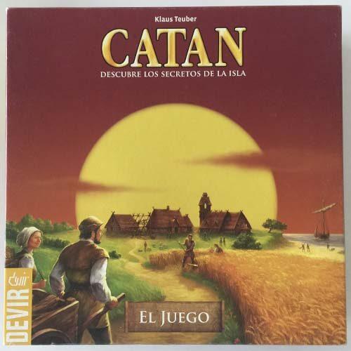 Catan el juego de mesa editado en castellano por Devir.