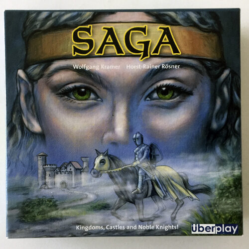 Saga el juego de mesa editado por Uberplay. Comprar Saga en EGD Games