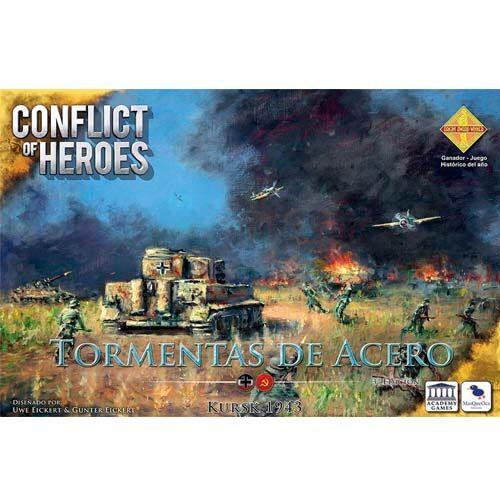 Conflict of Heroes Tormentas de Acero el juego de mesa editado en castellano por Mas QUe Oca. Comprar Conflict of Heroes Tormentas de Acero en EGD Games