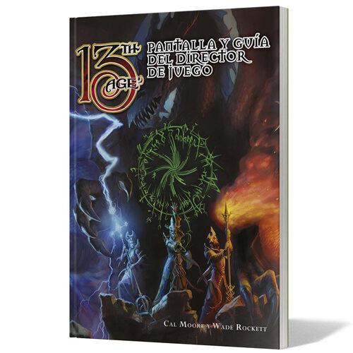 13th Age Pantalla y Guía del DJ el juego de rol editado por Edge Entertainment. Comprar 13th Age Pantalla y Guía del Dj en EGD Games
