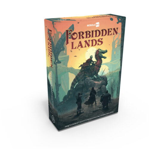Forbidden Lands el juego de rol editado en castellano por Nosolorol. Comprar Forbidden Lands en EGD Games