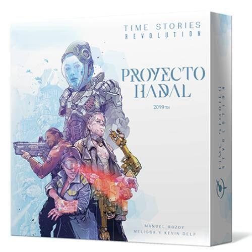 Time Stories Revolution Proyecto Hadal el juego de mesa editado en castellano por Asmodee. Comprar TiemStories Revolution en EGD Games