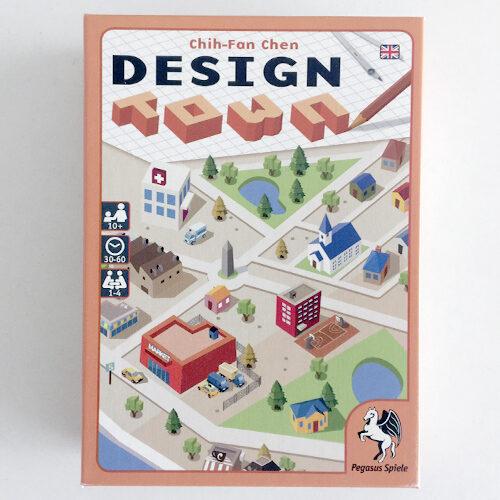 Design Town el juego de mesa editado en inglés por Pegasus Spiele. Comprar Design Town en EGD Games