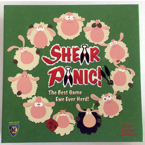 Shear Panic el juego de mesa editado en inglés por Mayfair Games. Comprar Shear Panic en EGD Games